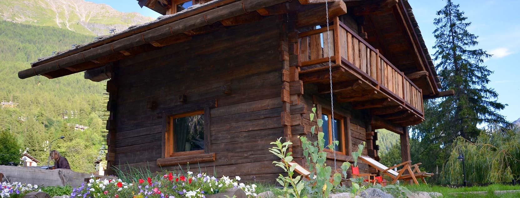 chalet svizzero appartamenti vacanze courmayeur hotel