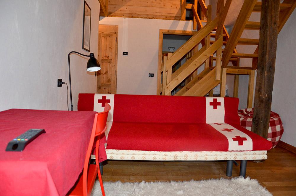 Suite Courmayeur - Chambre-appartement Courmayeur - Hotel Svizzero